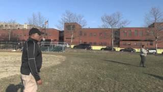 Shabazz High School Girls Softball Practice Coach Peel