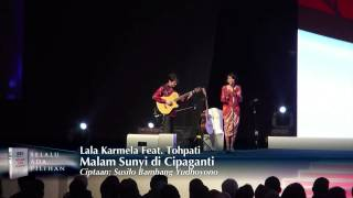 and quot malam sunyi di cipaganti and quot by lala karmela feat tohpati