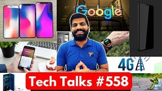 Tech Talks #558 - Nokia X5, Google Fine, 2018 iPhones, 4G in India, Instagram 2FA, Xiaomi Bangladesh
