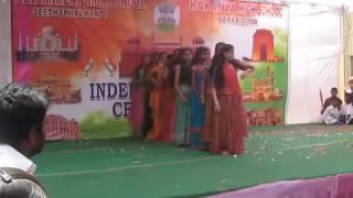 Desh rangila 10th girl dance Kitasar  independece day
