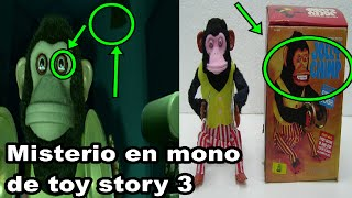 """el misterio detras del """"Mono toca platillos""""  de Toy story 3."""