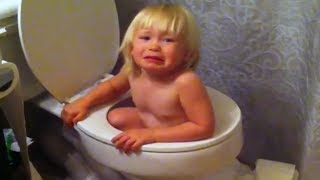 FUNNIEST TODDLERS GETTING STUCK FAILS COMPILATION! - IMPOSSIBLE LAUGH CHALLENGE!