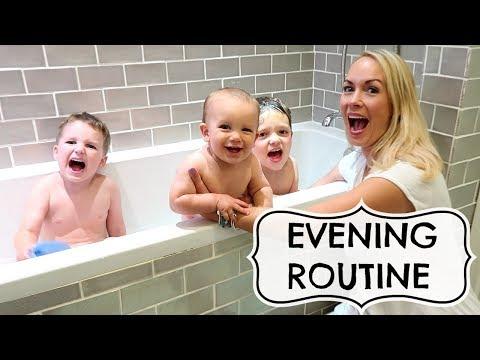 Xxx Mp4 EVENING ROUTINE WITH 3 KIDS 3gp Sex