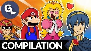 Super Smash Bros Comic Dub Compilation - GabaLeth