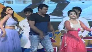 Sunil, Nikki Galrani and Dimple Chopade Dance performance at Krishnashtami Movie