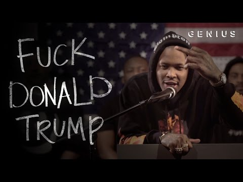 "YG Turns ""Fuck Donald Trump"" Into the Year's Best Political Attack Ad"