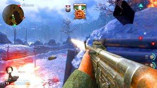 COD: WW2 Multiplayer GAMEPLAY - 25+ KILLSTREAK! (NEW GUNS + MORE)