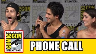 Teen Wolf Cast Call Tyler Hoechlin At Teen Wolf Comic Con Panel