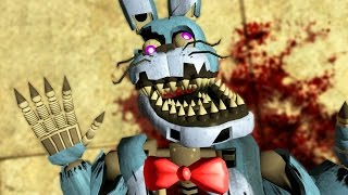 DEATH OF NIGHTMARE BONNIE! (Gmod FNAF Sandbox Funny Moments) (Garry's Mod)