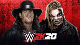 "download free The Undertaker vs. ""The Fiend"" Bray Wyatt: WWE 2K20 match simulation"