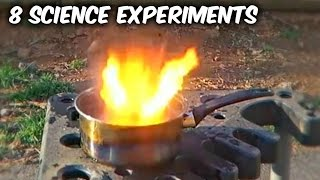 8 Amazing Science Experiments - Compilation