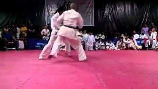 Ayaz Khan Karate Studient of Asian Champion Saleem Khan kohistani Choa Saiden Shah District Chakwal