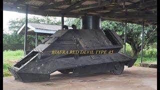Biafra War : Homemade Weapons & Tanks ( 1967 to 1970 )