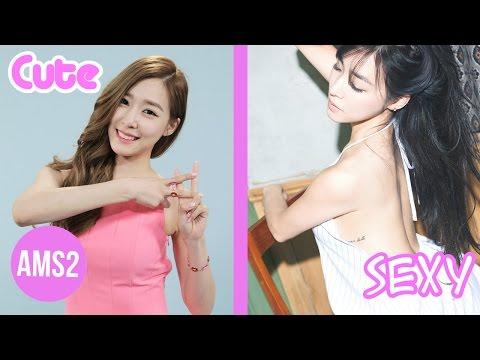 Cute VS Sexy In K-pop Girl Groups 2016