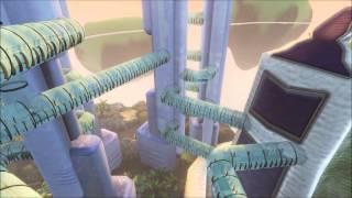 Floating Utopian City Flythrough