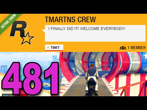 Grand Theft Auto 5 Multiplayer - Part 481 - I FINALLY MADE A CREW!