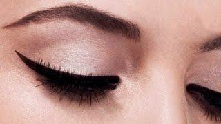 Perfect Winged Eyeliner tutorial (the EASIEST method)