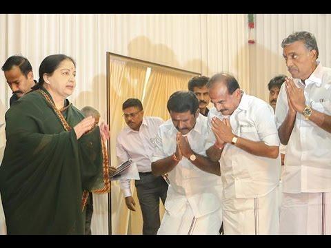 No one should lineup to welcome me : Jayalalitha