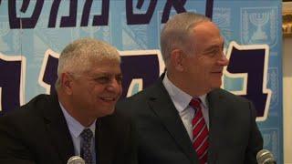 Netanyahu visits West Bank