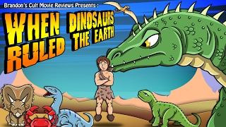 Brandon's Cult Movie Reviews: When Dinosaurs Ruled The Earth