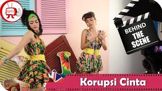 Duo Anggrek - Behind The Scenes Video Klip Korupsi Cinta  - NSTV