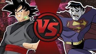 GOKU BLACK vs BIZARRO (Dragon Ball Super vs DC Comics) Cartoon Fight Club Episode 168