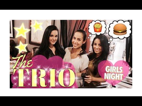 Xxx Mp4 The TRIO GIRLS Night Practicing BALANCE 3gp Sex