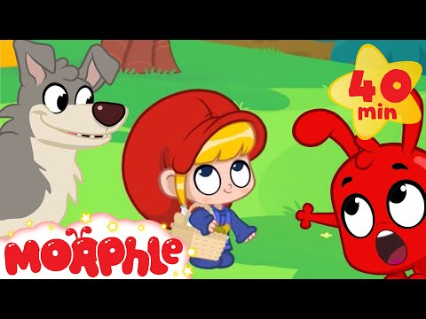 Little Red Riding Hood and Morphle Fairy Tale Animation For Kids