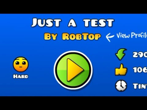Xxx Mp4 ROBTOPS NEW TEST LEVEL Geometry Dash 2 1 Just A Test New LDM Button Function 3gp Sex
