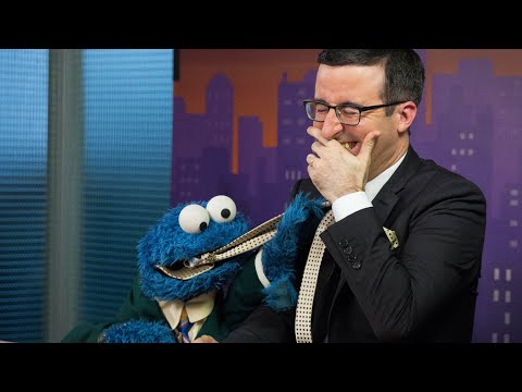 John Oliver & Cookie Monster Out Takes