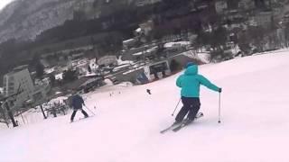 伊東秀人氏 Free ski @蔵王160315
