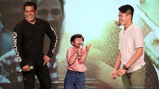 Salman Khan Most Funny Moments With Matin Rey Tangu