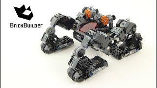 Lego Super Heroes 76086 Knightcrawler Tunnel Attack - Lego Speed Build