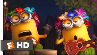 Despicable Me 3 (2017) - A Minion Luau Scene (2/10) | Movieclips