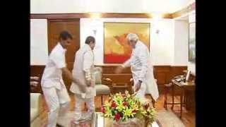 Governor of Bihar, D Y Patil meets PM