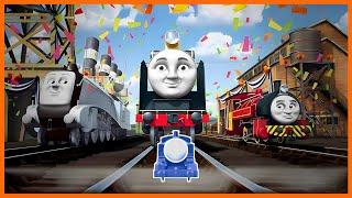 Roll Along Thomas - Thomas & Friends: Hero of the Rails - 'Go Go Thomas!' Music Video Remix