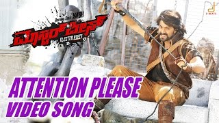 Masterpiece - Attention Please Kannada Movie Video song , Yash, V Harikrishna, Manju Mandavya