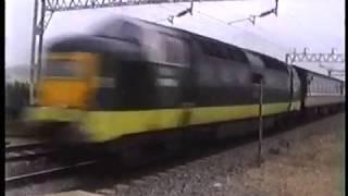 Deltic Passing Cheddington 1999
