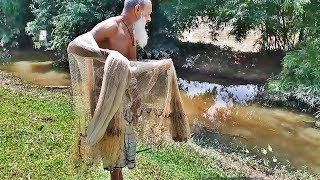 ✪ Bangladesh Fishing Videos । Village Fish Catching Using By Net | Amazing Village Fishing Video