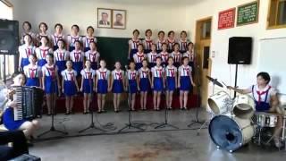 Heboh!!! Inilah Video Anak anak Korea Utara menyanyikan lagu Tanah Airku, Merinding Dengernya!!