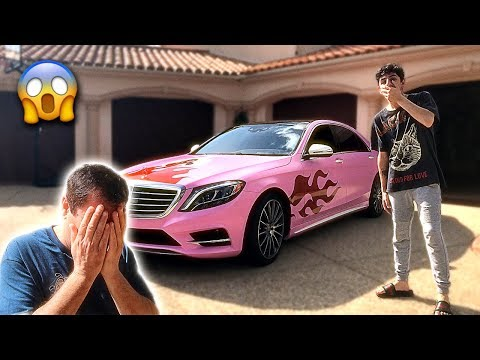 Xxx Mp4 I Gave My Dads Car A MAKEOVER He Was SO MAD Crazy Reaction 3gp Sex
