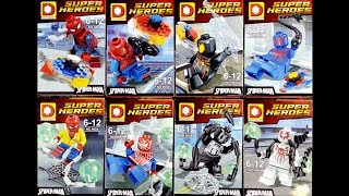LEGO Marvel Super Heroes Spider-Man Minifigures (knock-off) DUO LE PIN 9054