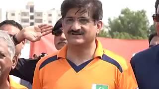 Sindh CM attends T-20 Cricket Match Festival