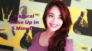 Natural Make Up in 5 minutes (Hindi)