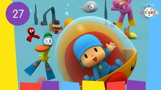 POCOYO WORLD: Whale's Birthday (EP27) | 30 Minutes with close caption