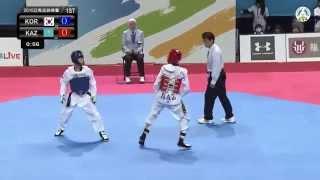 8th Asian Junior Taekwondo Championships. Final male -45