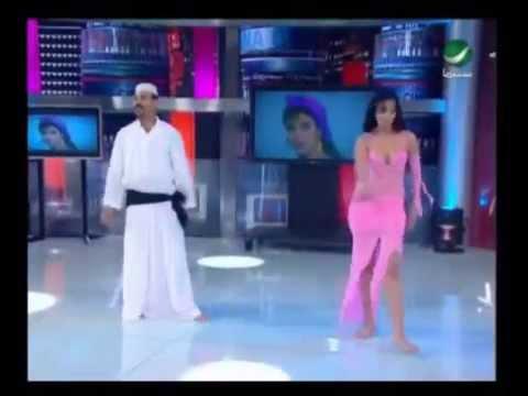 حلقة رقص رجل شرقى مع هالة سرحان