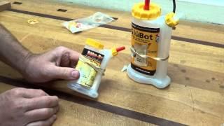 LMI Glu Bot and Babe Bot glue bottles