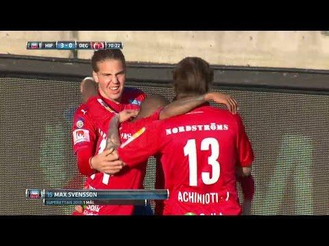 Höjdpunkter: 18-åringens första mål i HIF-tröjan i 3-0-seger - TV4 Sport