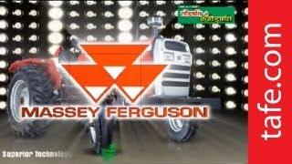 Massey Ferguson Tractors from TAFE - 25 TO 50 HP Range